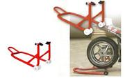 Подкаты для вывешивания заднего колеса мотоцикла