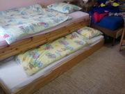 кроватка с полками/двухъярусная детская б/у
