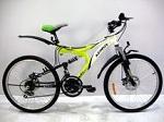 подростковый двухподвесный Велосипед Azimut Blaster