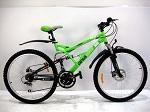 горный подростковый двухподвесный Велосипед Azimut Rock