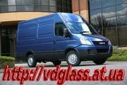 Автостекло триплекс,  лобовое стекло для микроавтобусов Iveco
