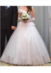Шикарное свадебное платье торг