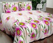 Купить постельное белье Украина,  Комплект Евро «Цветочный сон»