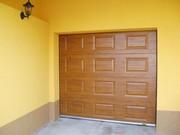 Ворота кольору карамель