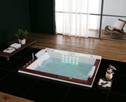 Гидромассажная ванна Golston G-U2606A,  1900х1580х770 мм