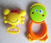 Набор детских погремушек (2 штуки)