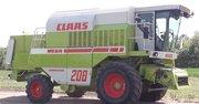 Комбайн зерноуборочный Claas Mega 208    1995г. в.